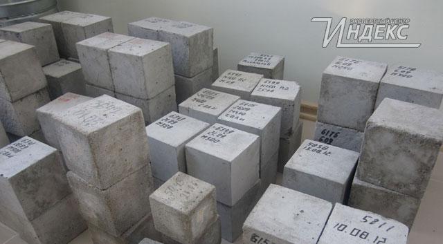Лаборатория проверка бетона состав бетона b25